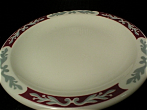 Syracuse China Embassy Pattern Roll and Butter Plate