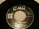 EMG Label 1960's Italian 45 Record