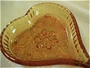 Sandwich Pattern Heart Shape Ashtray/Pin Dish