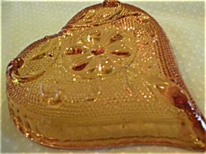 Sandwich Pattern Heart Shape Ashtray/Pin Dish