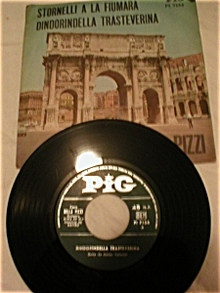 PIG Record Label Italian 45