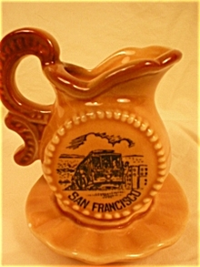 San Francisco Souvenir Mini Pitcher