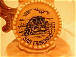 San Francisco Souvenir Mini Pitcher