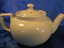 Hall China Boston Shape 4-Cup Teapot