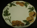 Stangl Hand Painted Sculptured Fruit Pattern Dessert Plate