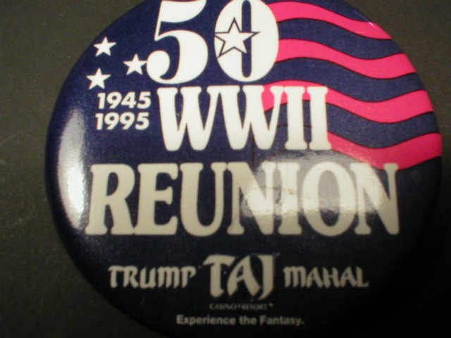 World War II Reunion Pin - 1995