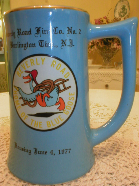 Beverly Road Fire Co. #2 Large Mug - 1977