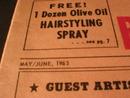 1963 Caryl Richards Beauty News Advertising Newspaper