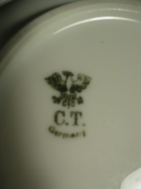 C.T. Altwasser Germany Dessert Bowl - Very Pretty!