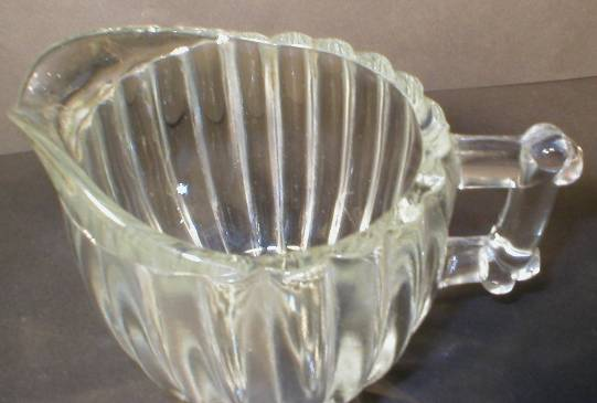 Jeannette Glass National Pattern Creamer