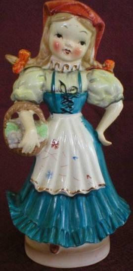 Italian Girl Figurine - Japan