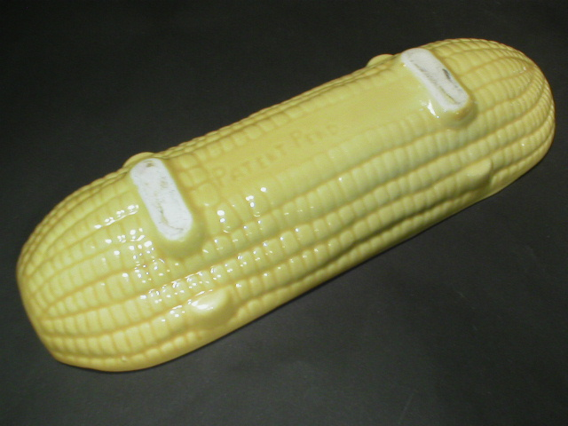 Older Corn Cob Holder Plate - Pat Pending