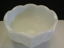 Pretty Westmoreland Milk Glass Grape Pattern Cocktail Fruit Bowl