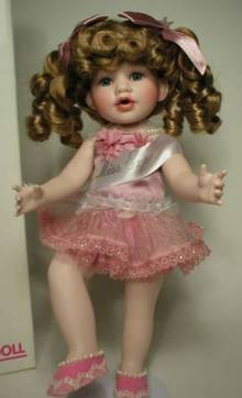 Sweetie Pie Lil Miss Expo Porcelain Doll
