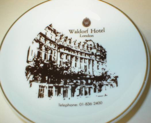Waldorf Hotel London Tip Tray Pin Dish - Wedgwood