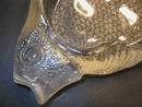 Really Nice Figural Glass Fish Bone Dish