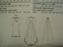 Historical Wedding Dress Pattern - Butterick 3716