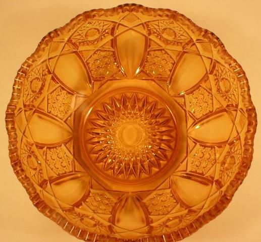 Kemple Quintec Pattern Bowl - Marigold