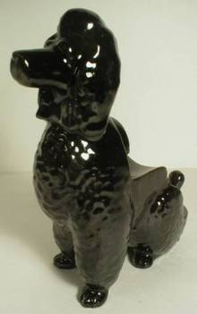 Black Poodle Letter Holder - Shafford