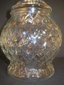 Very Nice Diamond Pattern Apothecary Jar