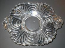Nice Cambridge Glass Caprice Two Handled Lemon Dish