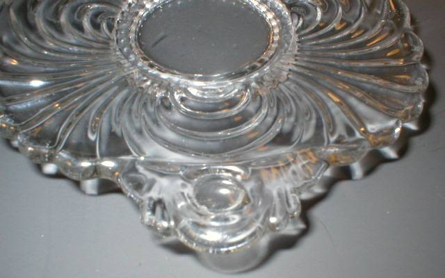 Nice Cambridge Glass Caprice Two Handled Lemon Dish