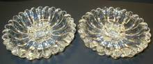 Hazel Atlas Glass Glass Daisy No. 487 Candle Holder Pair