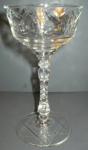 Libbey Rock Sharpe Crystal Champagne - Normandy