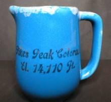 Pikes Peak Colorado Souvenir Creamer