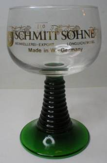 Schmitt Sohne Green Stem Glass Roemer
