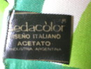 Totally Retro 1960's Mod Design Sedacolor Scarf