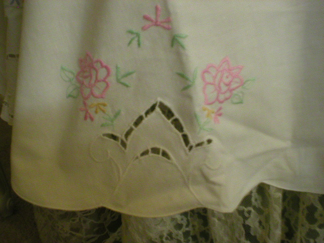 Sweet Embroidered Cutwork 70