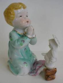 Sweet Camille Naudot Praying Child Figurine