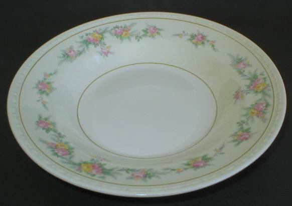 Homer Laughlin Eggshell Georgian Soup Bowl - Countess Pattern