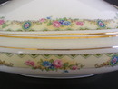 Gorgeous Crooksville China Square Covered Cassarole