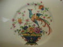 Salem China Bird of Paradise  & Basket of Flowers - Saucer