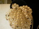 Faux Pearl & Crystal Cluster Loop Clip-on Earrings