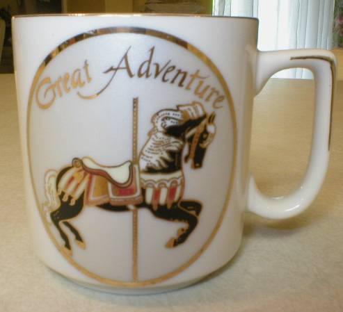 Great Adventure Amusement Park Carrousel Horse Child's Mug