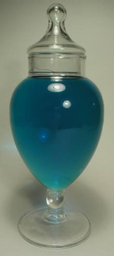 Nice Footed Show Globe Apothecary Candy Jar