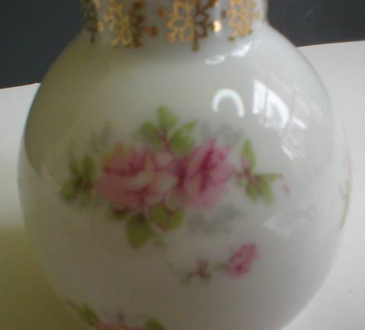 Sweet Bavaria Z. S. & Co. Pink Roses Shaker