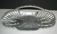 Sweet Aluminumware Handled Bread Basket