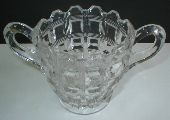 Westmoreland Pattern #124 Berlin Open Sugar Bowl
