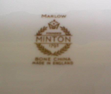 Minton Marlow Pattern Pin Dish