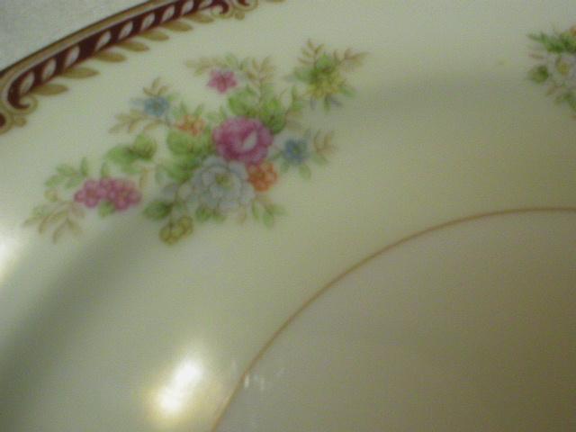 Stunning 1933 Noritake RC Salad Plates - Alberta