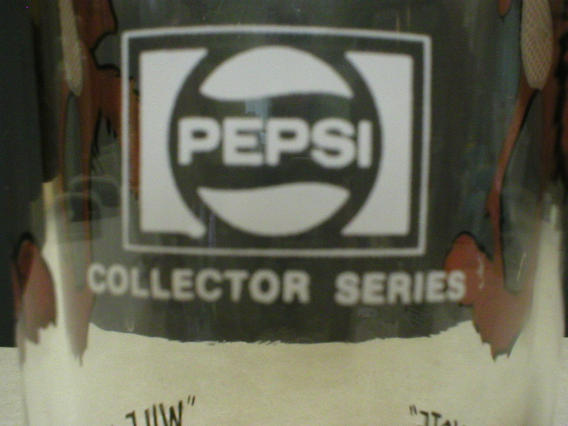 Wile E. Coyote 1973 Pepsi Character Glass