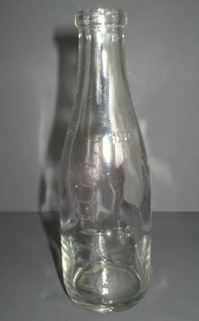 Interresting Little Glass Measuring Bottle