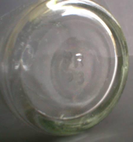 Interresting Little Glass Measuring Bottle