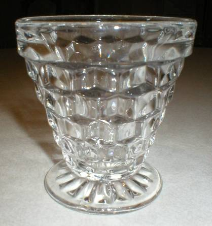 Fostoria American 3oz Cone Footed Shrimp Cocktail Cup