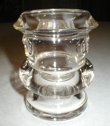 Cute Figural Glass Cigarette Urn