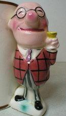 Vintage Enesco Novelty Figural Handle Boozer Coffee Cup